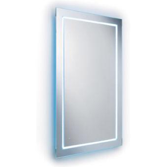 Miroir, miroir eclairant avec leds blancs 80/70 cm