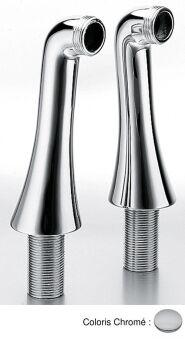 2 colonnettes fixation HYDROTHERAPIE - CH16051