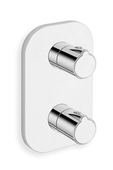 Facade externe new day thermostatique douche 2 sorties chrome NEW DAY - XE85251