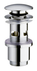 Bonde laiton  up&down®  pour vasques  avec trop plein VIDAGE - UD81051
