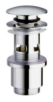 Bonde laiton  up&down®  pour vasques  avec trop plein VIDAGES - UD81051
