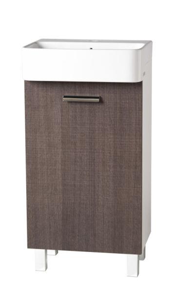 meuble petit lavabo 45 35 60 cm ouverture droite brun structure achat vente ondyna mt5351m. Black Bedroom Furniture Sets. Home Design Ideas