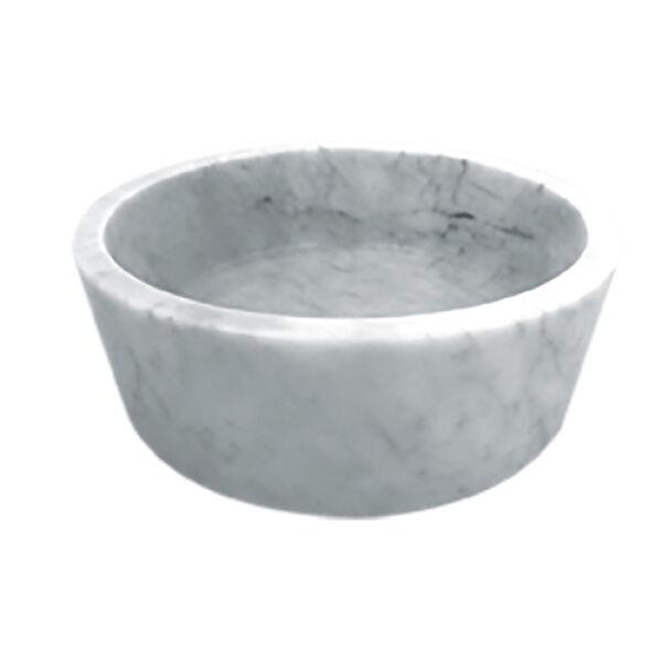 vasques pierre vasque en pierre cylindrique d42 h 15 cm. Black Bedroom Furniture Sets. Home Design Ideas