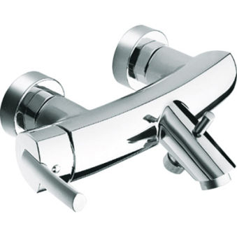 Bain/douche vizio chrome/satine***