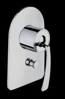 Douche encastree 2 sorties bollicine chrome BOLLICINE - BO61951