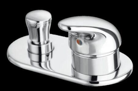 Mitigeur Bain/douche oltre sur gorge seul chrome OLTRE - BD12851