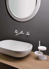 Mélangeur lavabo mural 3 trous BEAK - BE24251