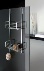 Porte savon double a panier a accrocher en laiton grand hotel chrome GRAND HOTEL - GH15951