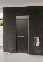 Porte coulissante 1 element acqua 5000 gauche PAROIS DE DOUCHE - XT1LXB4AQB10
