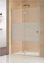 Portes pliantes pour niche 800 multi s 4000 gauche ag mat PAROIS DE DOUCHE - GFPNL8000SILA10