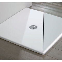 Receveur douche  acrylique blanc 9090h3 RECEVEURS - COLA9090B