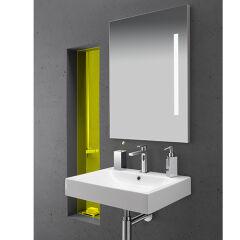 Miroir leds 90-70 cm  bande verticale MIROIRS - MLD9070