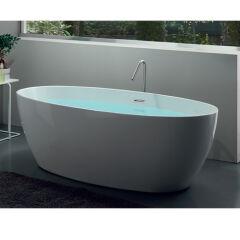 Baignoire ovale capri acrylique 1700x820 BAIGNOIRE - COLBCAP170
