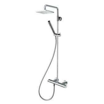 Colonne de douche diario thermostatique complete chrome*