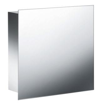 Armoire inox suspendue avec miroir MEUBLES - PK51511