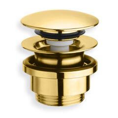 Bonde lavabo up&down laiton nf or 5-55 mm VIDAGES - UD42552