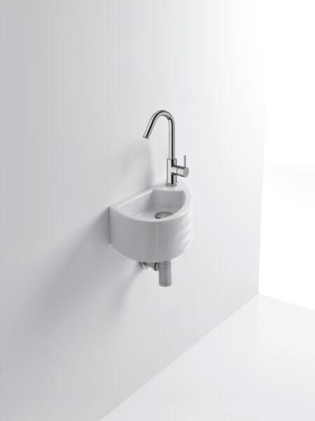 lave mains ceramique giga l45 5xp25 5xh15 cm blanc brillant achat vente ondyna wgi4509. Black Bedroom Furniture Sets. Home Design Ideas