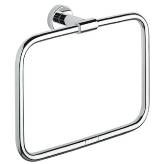 Porte serviette anneau tecno chrome