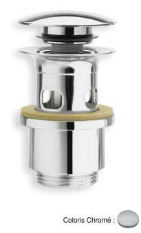 Bondes laiton up&down®  pour vasques avec trop-plein VIDAGES - BUP0451