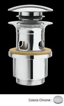 Bondes laiton up&down®  pour vasques avec trop-plein VIDAGES - BUP0651