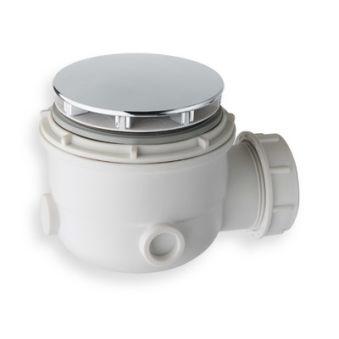 Bonde de douche diametre 60 mm chrome