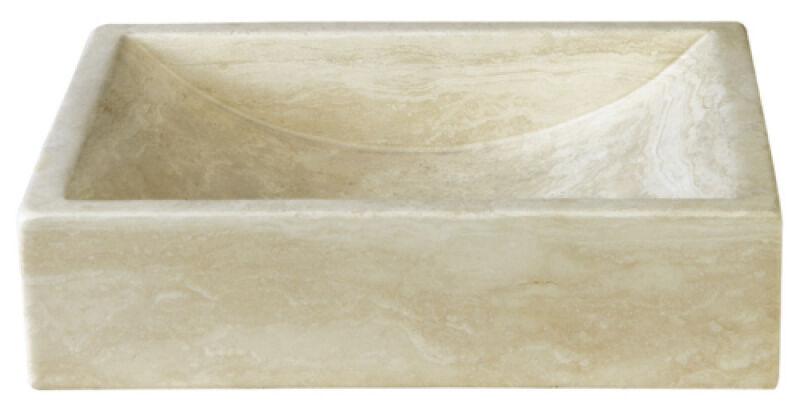 vasques vasque en pierre rectangulaire 40 30 10 cm sable. Black Bedroom Furniture Sets. Home Design Ideas