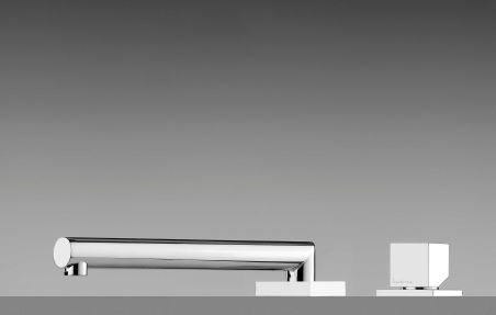 LUISINA - Mitigeur de cuisine escamotable avec bec pivotant
