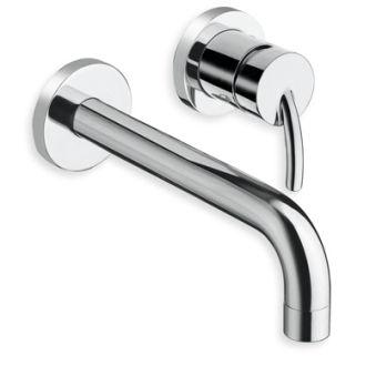 Robinets pour lavabos, lavabo mural tintoretto 2 trous chrome*/ tv27751