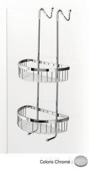 Double panier à accrocher GRAND HOTEL - TE53151